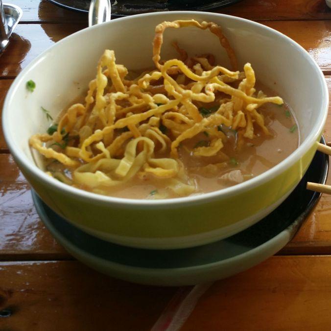 Vår nyupptäckta favoriträtt, Kai Soy! Our newly discovered favorite dish, Kai Soy!