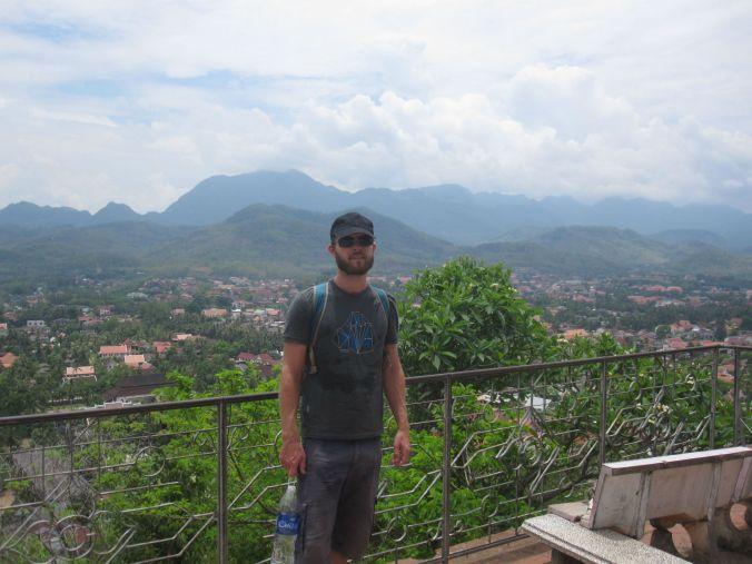 Fin utsikt över Luang Prabang! Nice view over Luang Prabang!