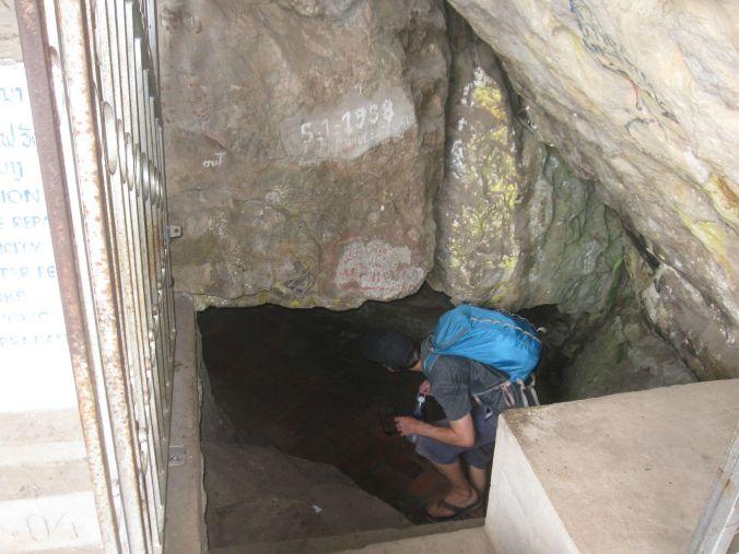 En mystisk grotta! A mystical cave!