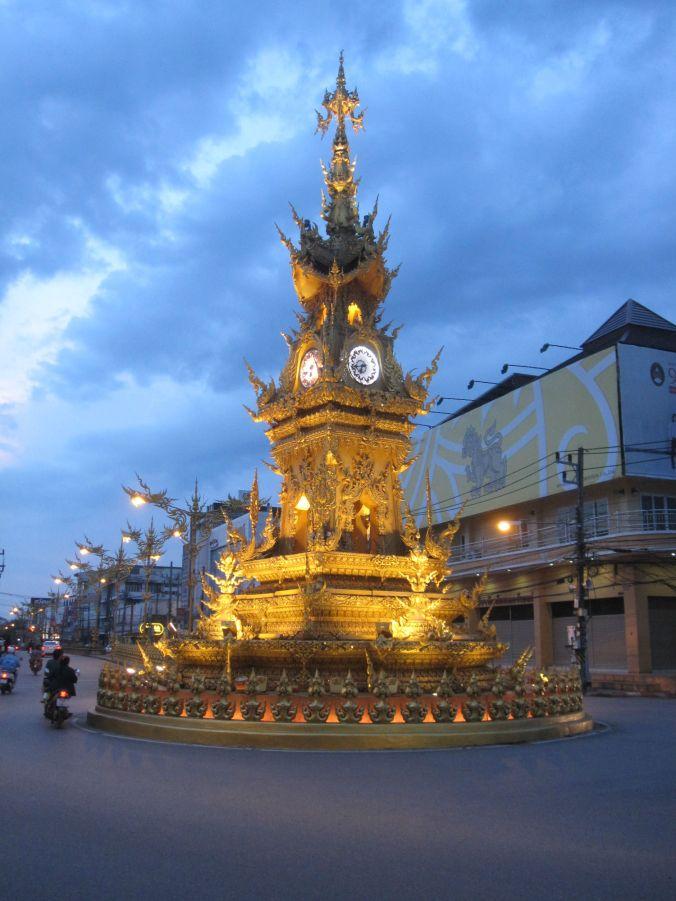 Klocktorn i Chiang Rai! Clock tower in Chiang Rai!