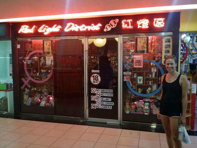 En oskyldigare variant av sexbutik finns i Miri! A more innocent variant of a sex shop can be found in Miri!