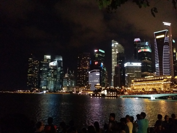 Singapore by night!