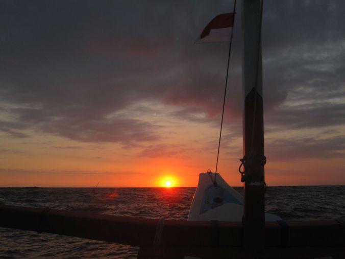 Soluppgång och öppet hav! Sunrise and open sea!