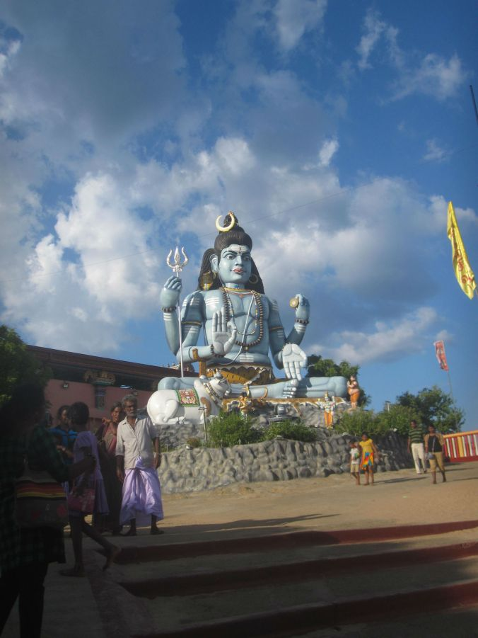 Koneswaramtemplet! The Koneswaram temple!
