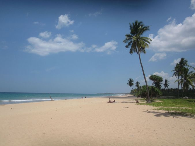 Stranden i Nilaveli! Nilaveli beach!
