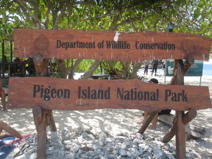 Pigeon Island!