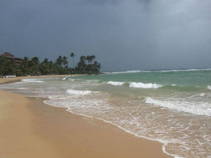 Hikkaduwa beach!