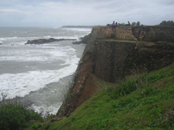 Klipporna vid fort Galle! The cliffs at Fort Galle!