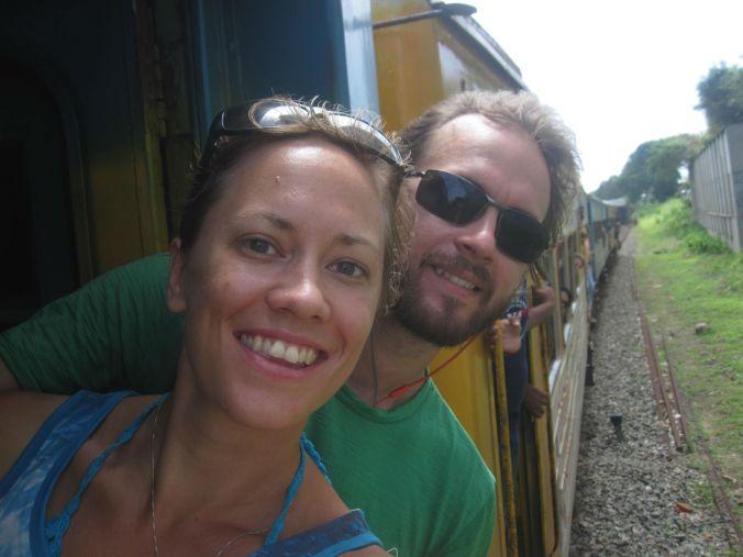 Tåg-selfie! Train-selfie!