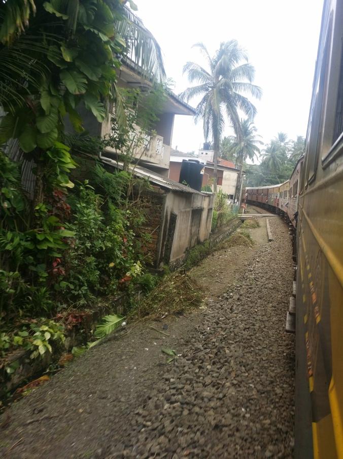 Åker tåg i Sri Lanka! Riding the train in Sri Lanka