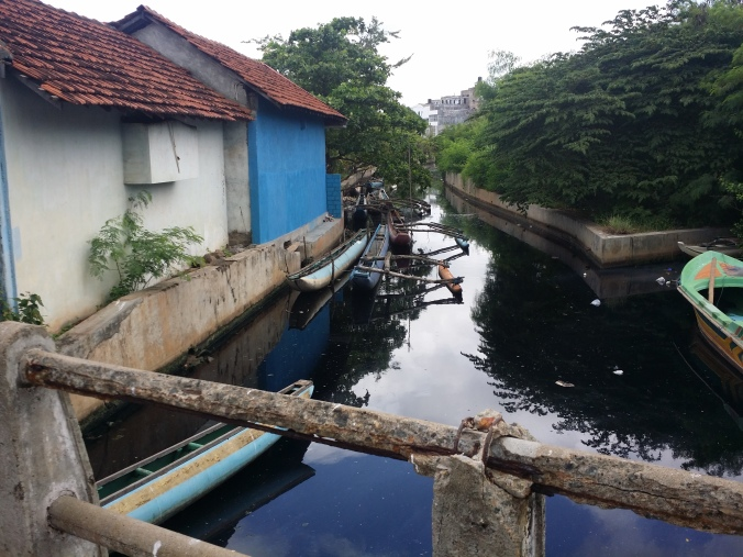Holländska kanalen i Negombo! The dutch canal in Negombo!