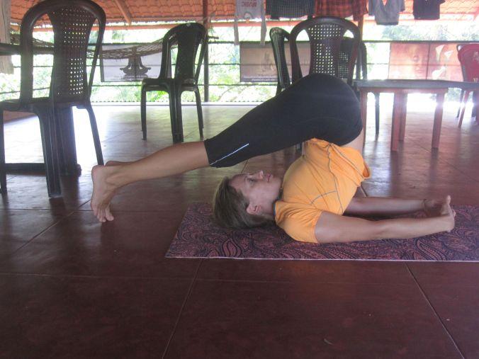 Och en övning som Ulrika klarade bättre än Pontus! And an exercise that Ulrika did better than Pontus!