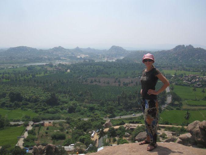 Utsikt från Hanumans tempel! View from the temple for Hanuman !