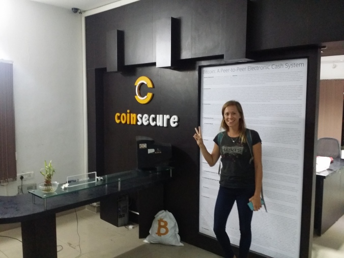 Det var jätteroligt att få se oss omkring hos Coinsecure! It was great to have a look around at Coinsecure!
