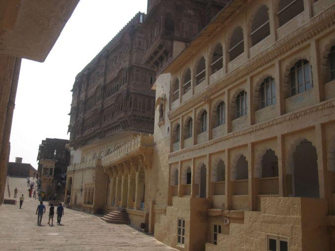 Palatset inne i fortet! The palace inside the fort!