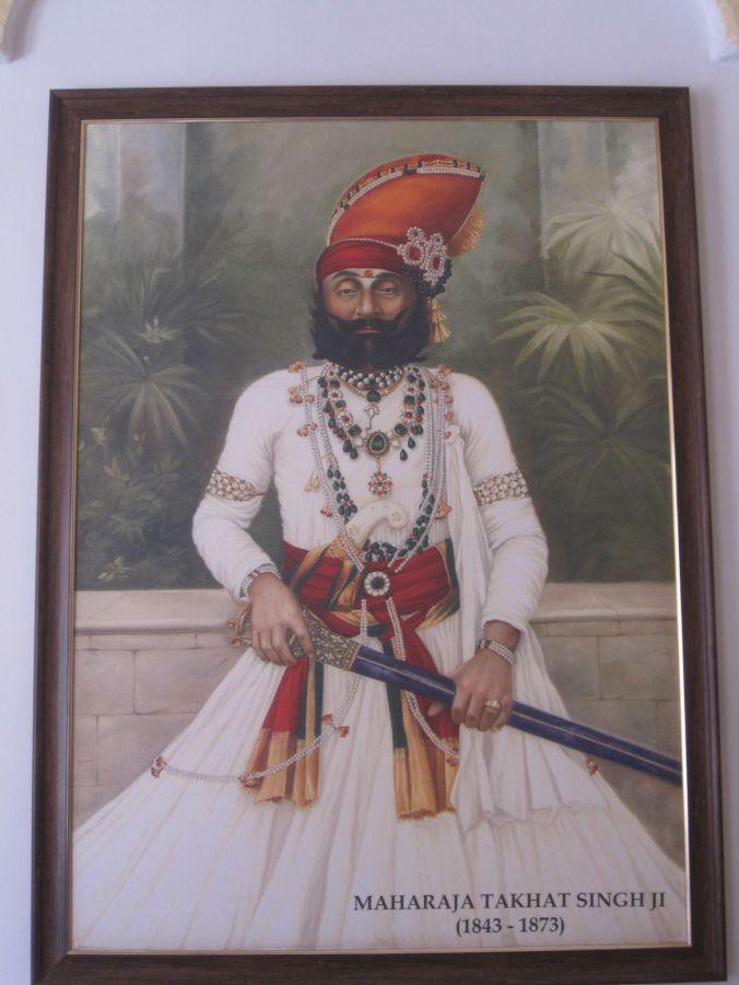 En av alla maharadjor som styrde Marwar! One of the maharajas who ruled Marwar!
