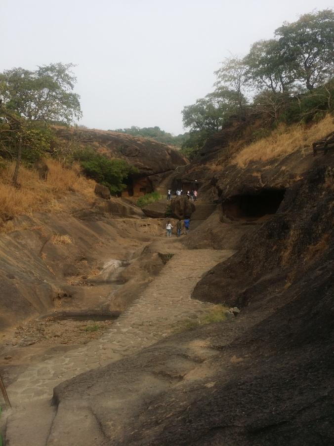 Kanherigrottorna! Kanheri caves!