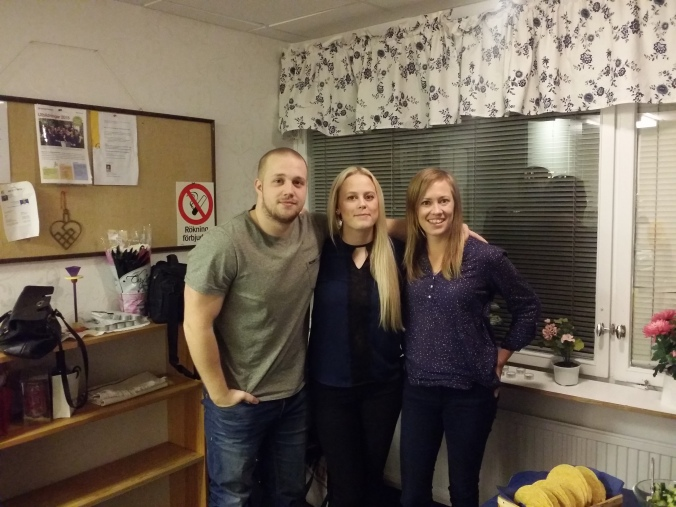 Ulrikas älskade syskon Niklas och Rebecca!