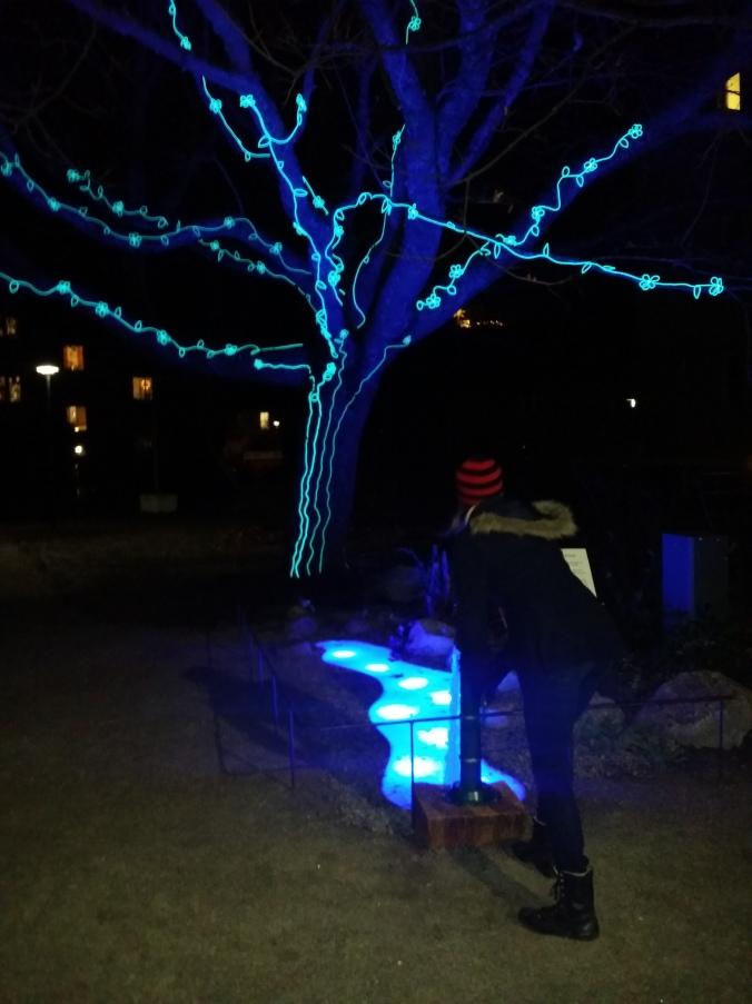 Årets vinterljus i Linköping! This year's winter light in Linköping!
