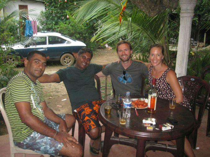 Vår familj i Sri Lanka! Our family in Sri Lanka!