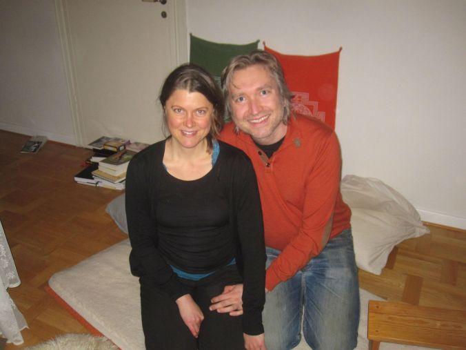 Vi hann träffa mysiga Karin och Gustaf ! We got to meet cozy couple Karin and Gustav!