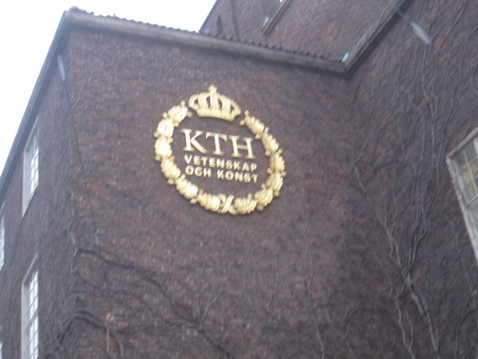 Möte på Kungliga tekniska högskolan! Meeting at the Royal Institute of Technology!