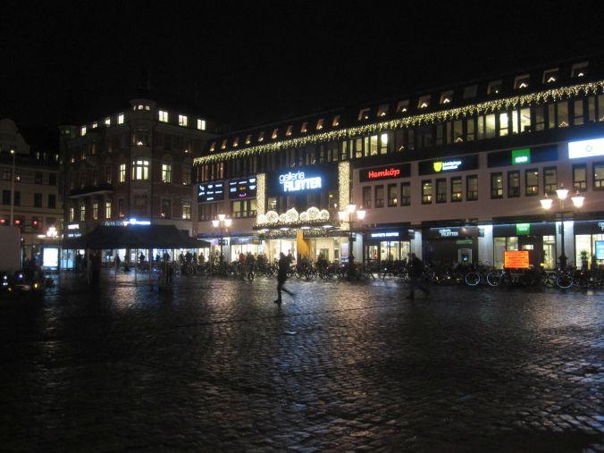 Stora torget i Linköping! The big square in Linköping!