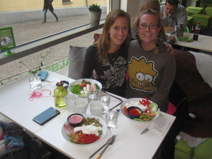 Lunchdejt med Ullis på Hälsofreak! Lunch date with Ullis on Health Freak!