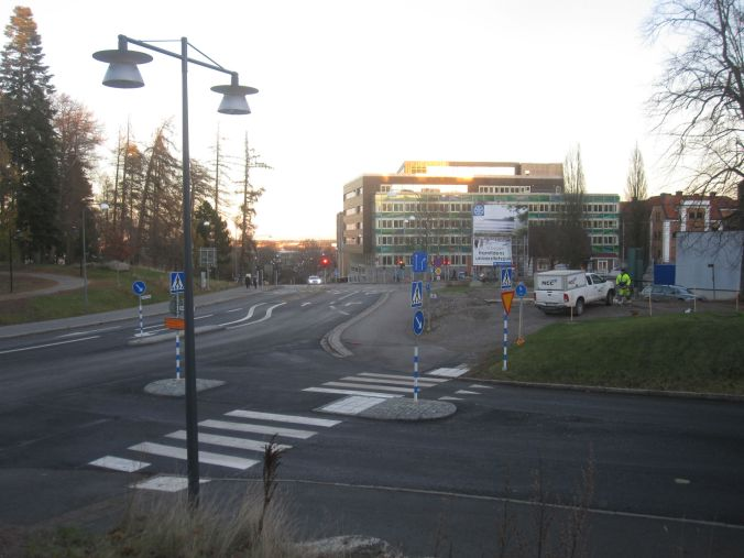 Överblick över de nybyggda delarna vid vårt gamla jobb, Hälsouniversitetet i Linköping! Overview of the newly built parts at our old job, Faculty of Health Sciences, Linköping University!