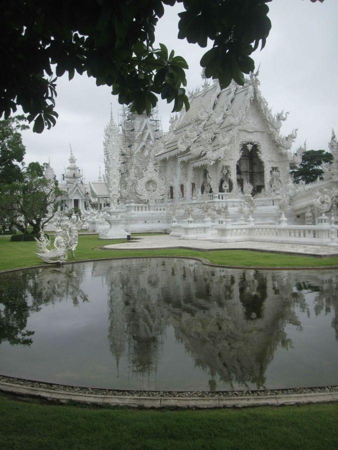 Wat Rong Khun i Chiang Rai! Wat Rong Khun in Chiang Rai!