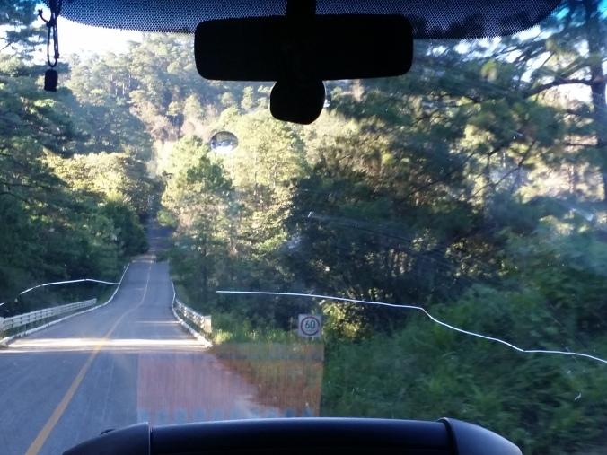 Utsikten vi hade på vår väg mot nationalparken Lagunas de Montebello! The view we had on our way to the Lagunas de Montebello National Park!